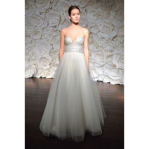 Naeem Khan Tulum Wedding Dress Size 10 Preserved